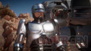 Mortal Kombat 11 RoboCop head