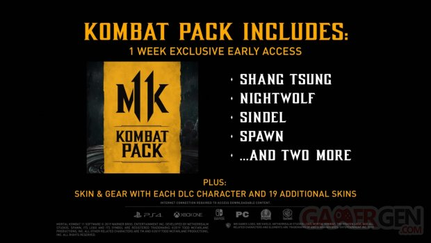 Mortal Kombat 11 Season Pass 01 06 2019
