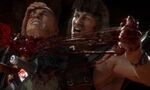 mortal kombat 11 ultimate rambo donne lecon survie bande annonce gameplay