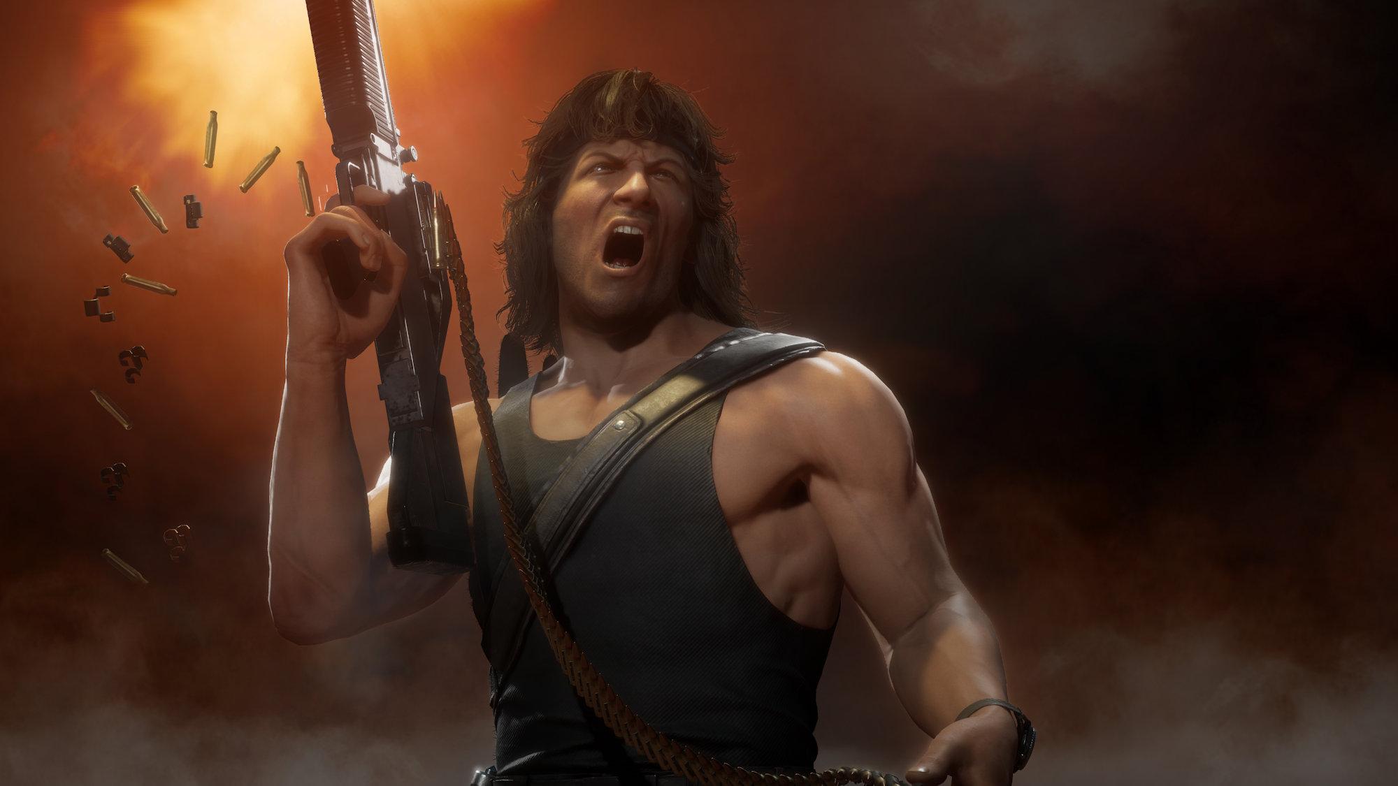 Mortal Kombat 11 : Rambo, Rain et Mileena vont faire couler le sang