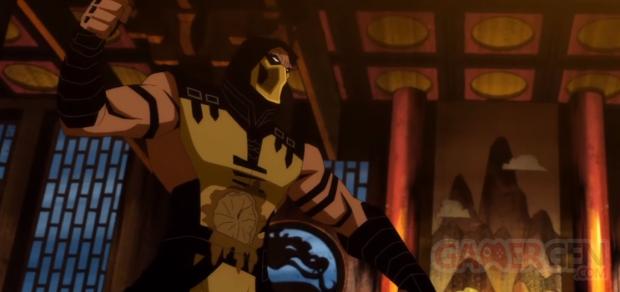 Mortal Kombat Legends Scorpion's Revenge head