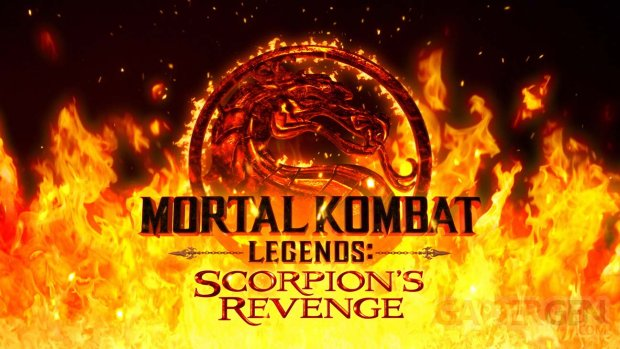 Mortal Kombat Legends Scorpion's Revenge logo