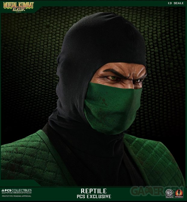 Mortal Kombat Reptile statue image screenshot 25