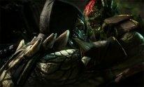 Mortal Kombat X Reptile head