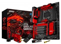 MSI X99A Godlike Gaming Classique Rouge