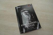 MSI Z170A Krait Gaming R6 Siege Rainbow Six Ubisoft Carte mère Motherboard Intel  Unboxing Déballage Présentation Images Photos GamerGen com Clint008 (17)