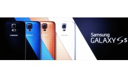 MWC Samsung UNPACKED Galaxy S5 coloris