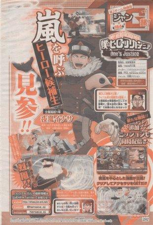 My Hero Academia Ones Justice scan Inasa Yoarashi 02 11 2018