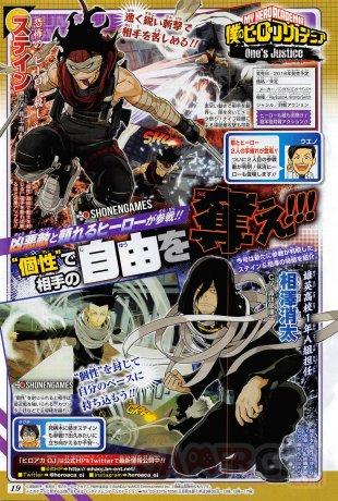 My Hero Academia Ones Justice scan Stain Shota Aizawa 30 03 2018