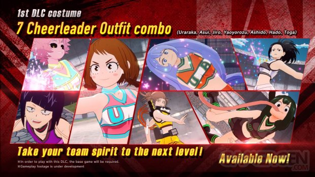 My Hero One's Justice 2 costumes 11 06 2020