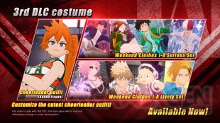 My Hero One's Justice 2 packs costumes 25 11 2020