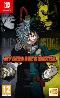 My Hero Ones Justice jaquette Nintendo Switch 13 04 2018