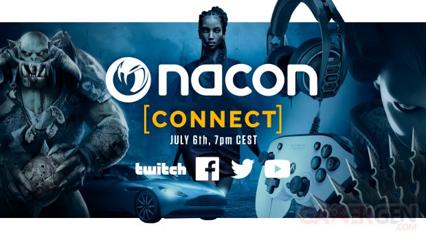 Nacon Connect 2021 date head