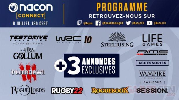 Nacon Connect programme