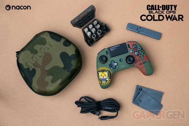 Nacon Revolution Unlimited Pro Controller 29 09 2020 édition spéciale Call of Duty Black Ops Cold War (2)