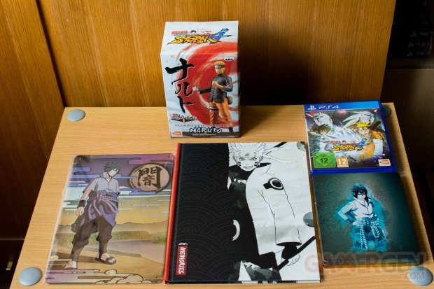 Naruto Shippuden Ultimate Ninja Storm 4 collector deballage unboxing photos 08