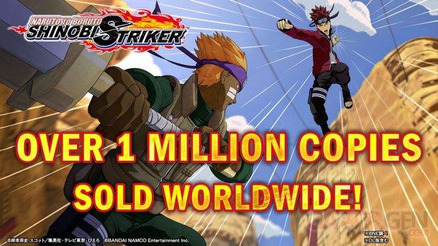 Naruto to Boruto Shinobi Striker chiffres ventes millions vendus