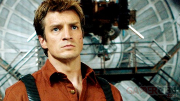 Nathan Fillion Captain Malcom Firelfy