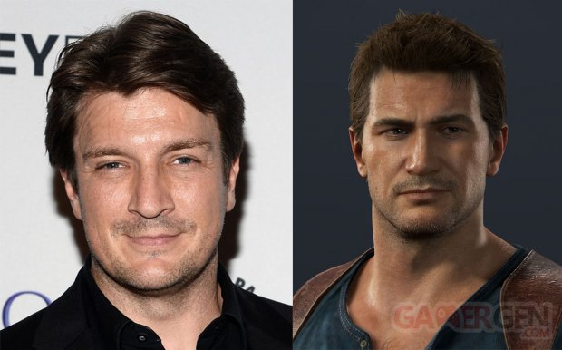 Nathan Fillion Drake Uncharted