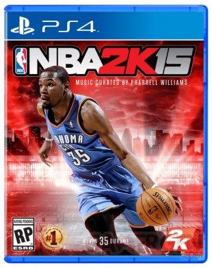 NBA 2k15 jaquette PS4