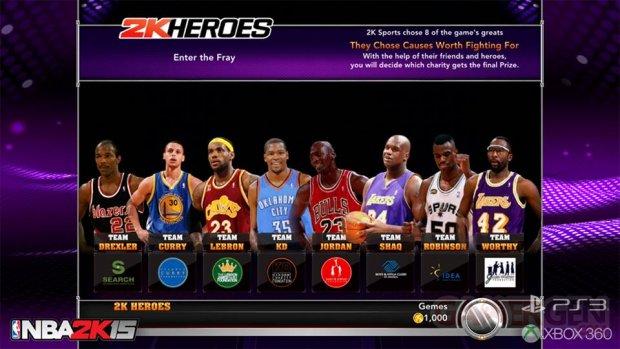 NBA 2K15 Mode Hero 1