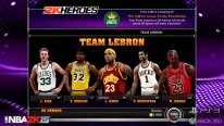 NBA 2K15 Mode Hero team lebron