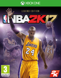 NBA 2K17 Legend Edition jaquette Kobe Bryant