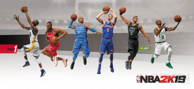 NBA 2K19 Figures Series 1 pic