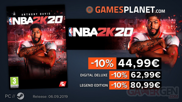 NBA 2K20 Gamesplanet