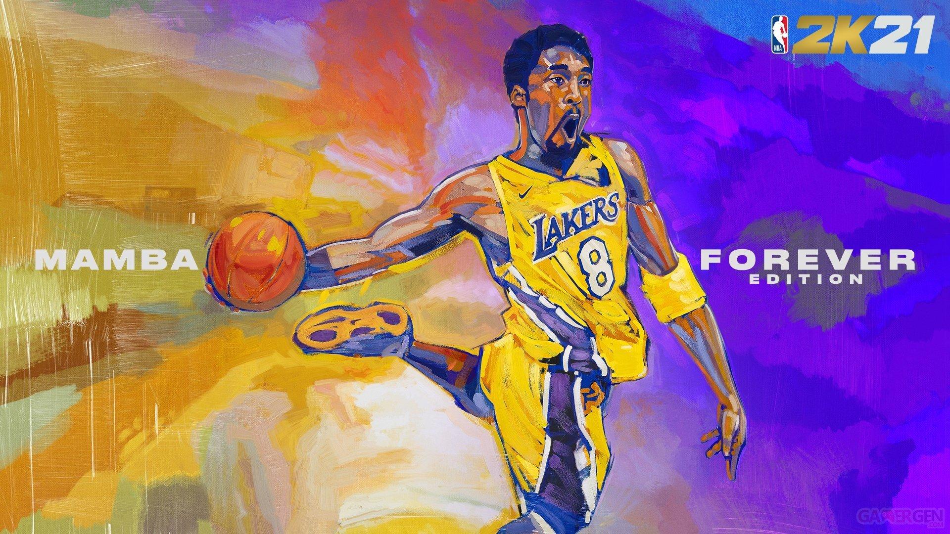 Kobe Bryant sera sur la jaquette d'une édition spéciale de NBA 2K21