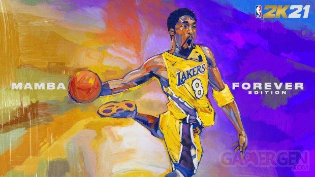 NBA 2K21 Kobe Bryant Mamba Forever Edition banner 1