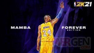 NBA 2K21 Kobe Bryant Mamba Forever Edition banner 2