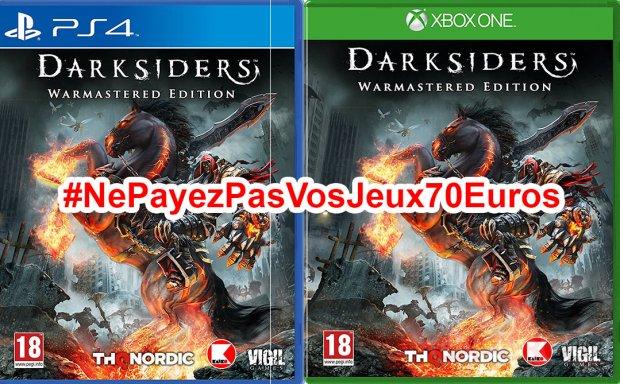 Ne Payez pas vos jeux 70 euros DarkSiders