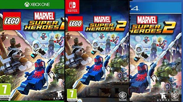ne payez pas vos jeux 70 euros Lego Marvel Super Heroes