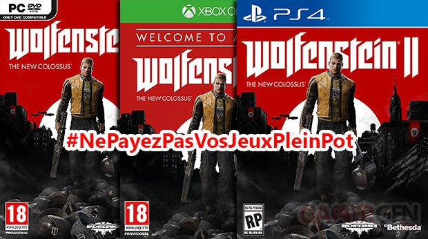 ne payez pas vos jeux 70 euros #NePayezPasVosJeuxPleinPot