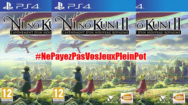 ne payez pas vos jeux 70 euros Ni No Kuni 2