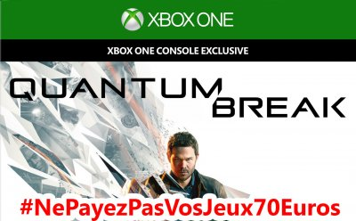 bon plan quantum break o le trouver pas cher nepayezpasvosjeux70euros gamergen com. Black Bedroom Furniture Sets. Home Design Ideas