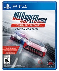 need for speed rivals complete edition jaquette boxart cover ps4