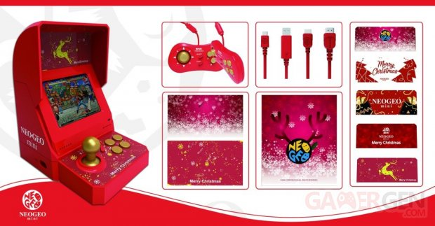 Neo Geo christmas edition noel images consoles (2)