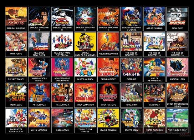 Neo Geo Mini Samurai Shodown 1.