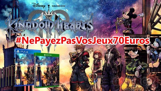 NePayezPasVosJeux70Euros Kingdom Hearts 3