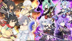 Neptunia x Senran Kagura Ninja Wars 28 07 2021 key art 1