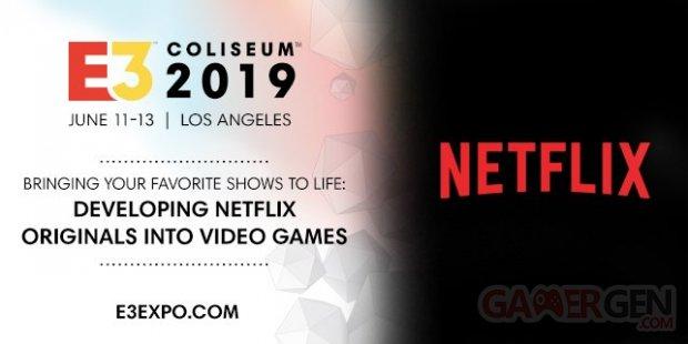 Netflix E3 2019 head