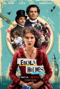 Netflix Enola Holmes poster affiche date de sortie