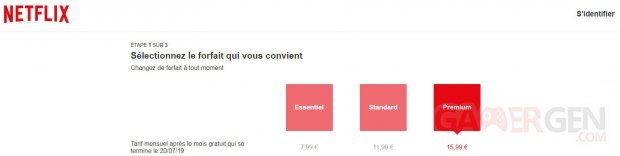 Netflix France Abonnement Prix Tarif image