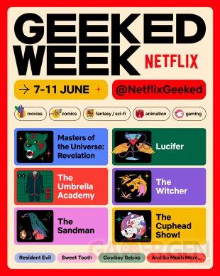 Netflix Geeked Week poster affiche