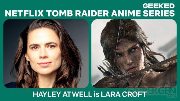 Netflix Tomb Raider Hayley Atwell