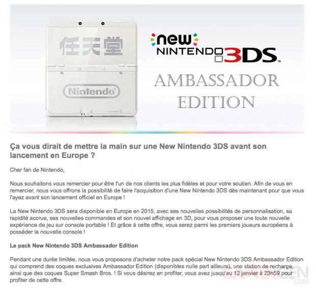 New 3DS Ambassador Edition 2