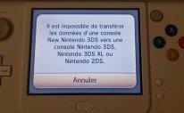 new 3ds nintendo transfert donnees 3ds erreur error impossible