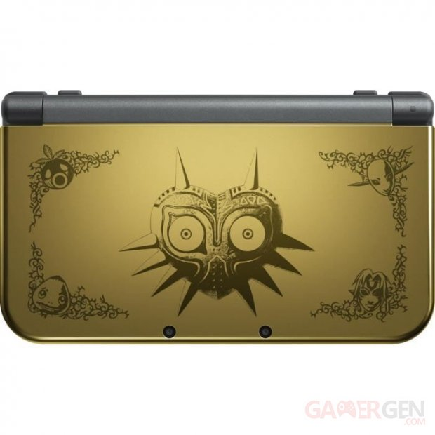 New 3DS XL The Legend of Zelda Majora's Mask console
